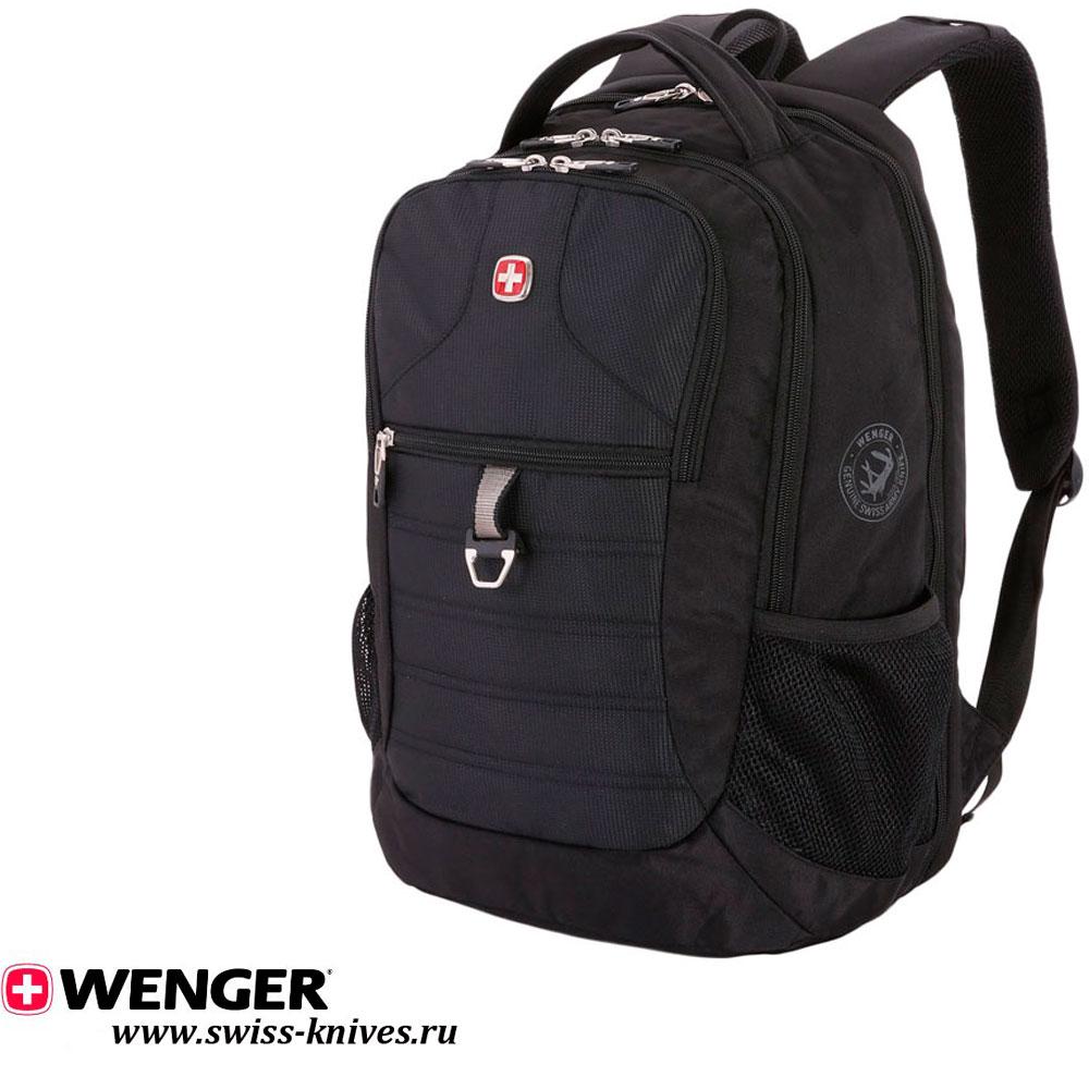 ca1e7e13fcad Городской рюкзак с отделением для ноутбука Wenger ScamSmart черный  15''(29л) 5888202423