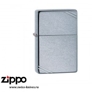 Зажигалка широкая Zippo Vintage with Slashes Street Chrome 267