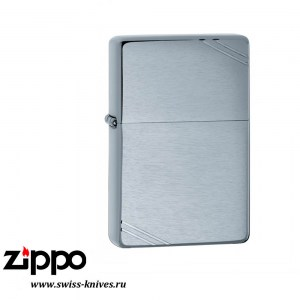 Зажигалка широкая Zippo Vintage 1937 with Slashes High Polish Chrome 230