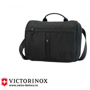 Сумка наплечная Victorinox Advenuter Traveler чёрная (4л) 31173401