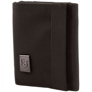 Бумажник Victorinox Lifestyle Accessories 4.0 Tri-Fold Wallet чёрный 31172401