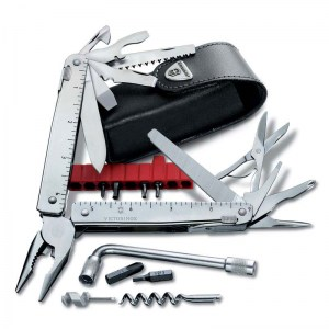 Мультитул VICTORINOX SwissTool X Plus Ratchet 115 мм 40 функций 3.0339.L